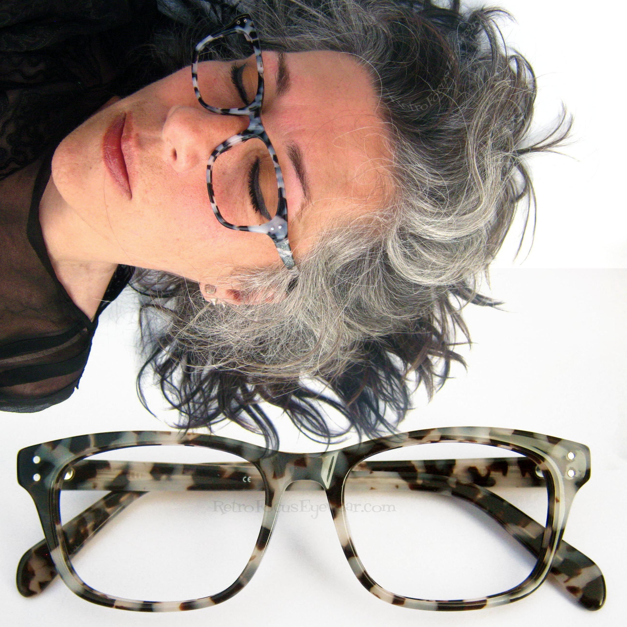 Eyeglass Frames For Gray Hair : *Christian* 50 somethin shades of Grey tortoise shell in a ...