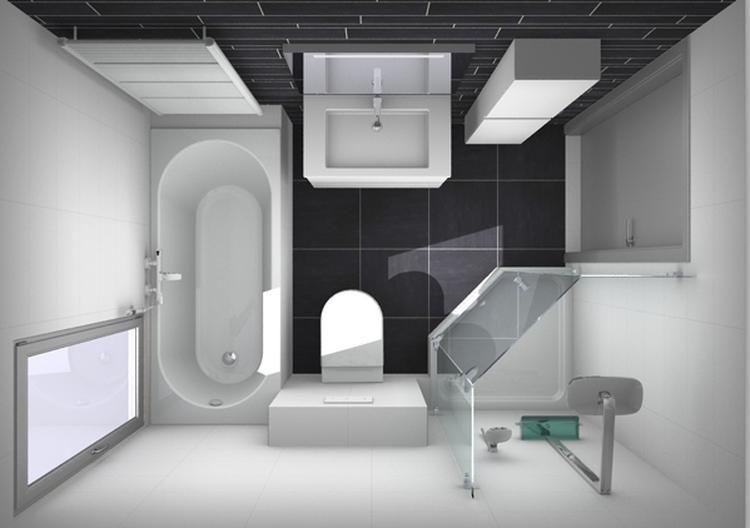 Foto: indeling kleine badkamer. Geplaatst door kim.huiskamp.7 op ...