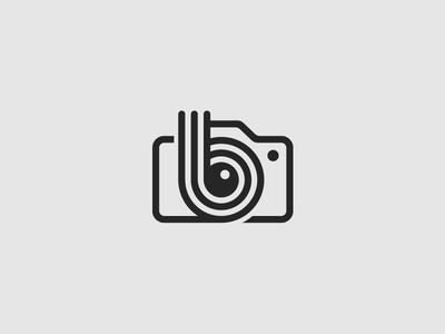 B Camera Logo Camera Logos Design Camera Logo Photography Logo Design