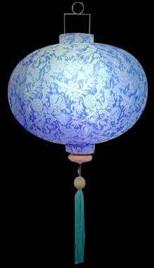 wealth lantern sky blue