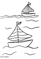 Disegni Da Colorare Barca.Disegni Di Barche Barchette E Navi Da Colorare Portale Bambini Boat Coloring Coloringpages Coloriage Colorinsp Disegno Di Barca Disegni Di Pesci Colori