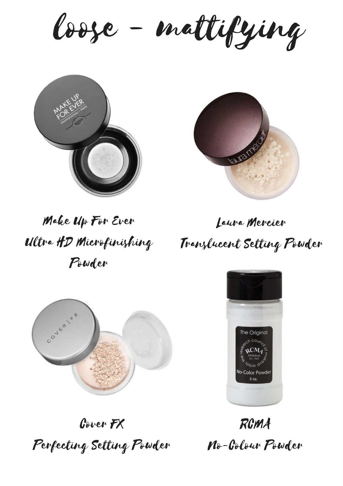 Top 10 Must Have Setting Powders That You NEED Right Now