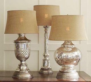 Love These Mercury Lamps Mercury Glass Diy Mercury Glass Lamp Glass Lamp Base