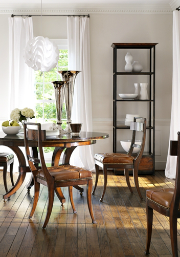 Dining Room Featuring Henredo Acquisitions Warren Dining Table And Hanover  Chairs. Henredon Interior Design Showroom Suite 122 In MDC