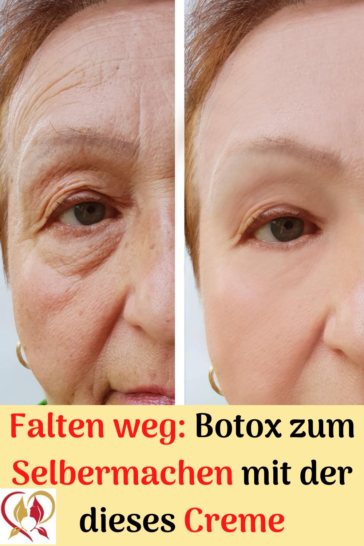 Falten weg: Botox zum Selbermachen mit der dieses Creme