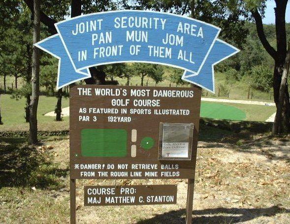 Korean Demilitarized Zone Golf Golf Courses World Golf
