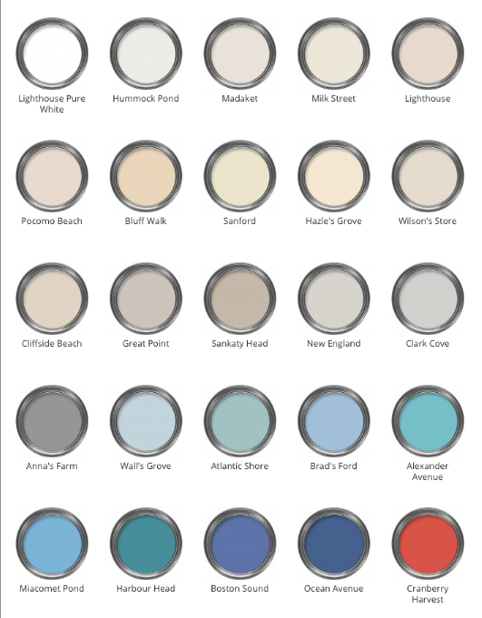 Image Result For Hampton Style Colour Palette Jemmel