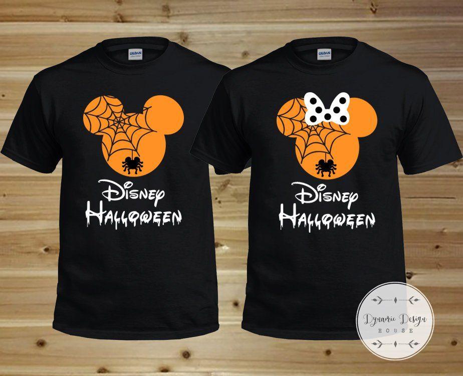 Disney Halloween Shirts, Disney Spider Shirts, Family