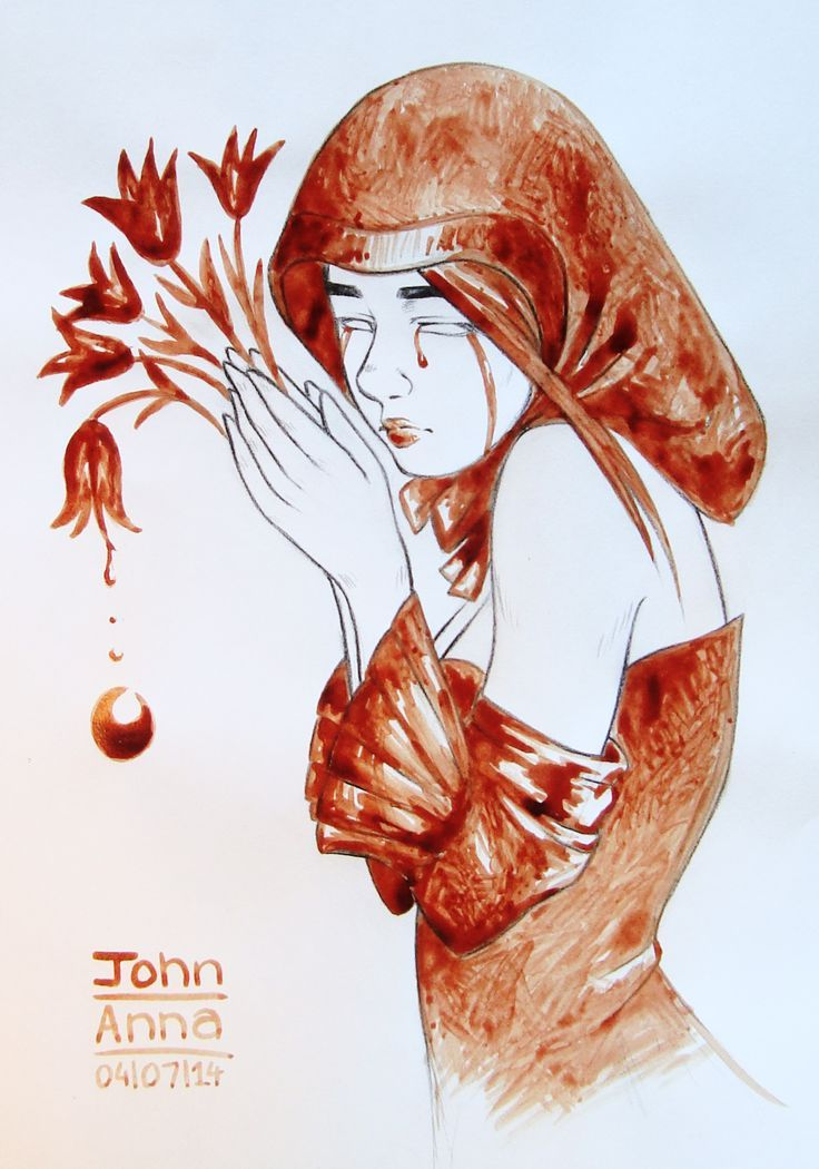 """Flowing Tears"" by John Anna"