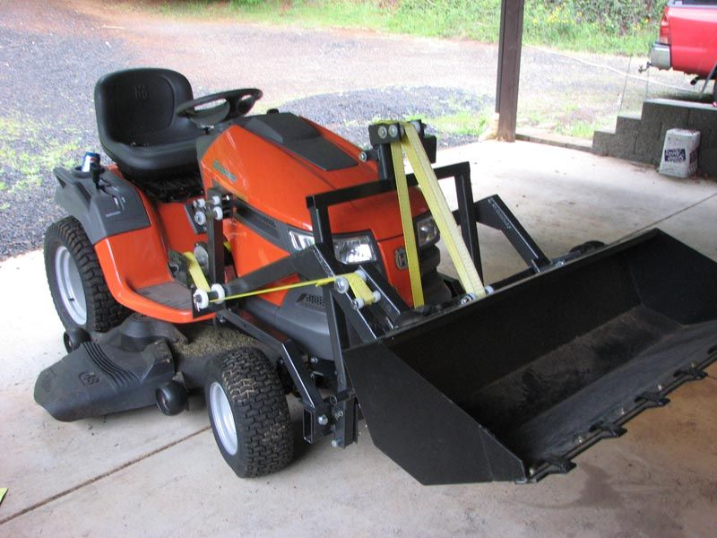 Mytractorforum Com The Friendliest Tractor Forum And Best Place For Tractor Information Garden Tractor Attachments Homemade Tractor Tractors