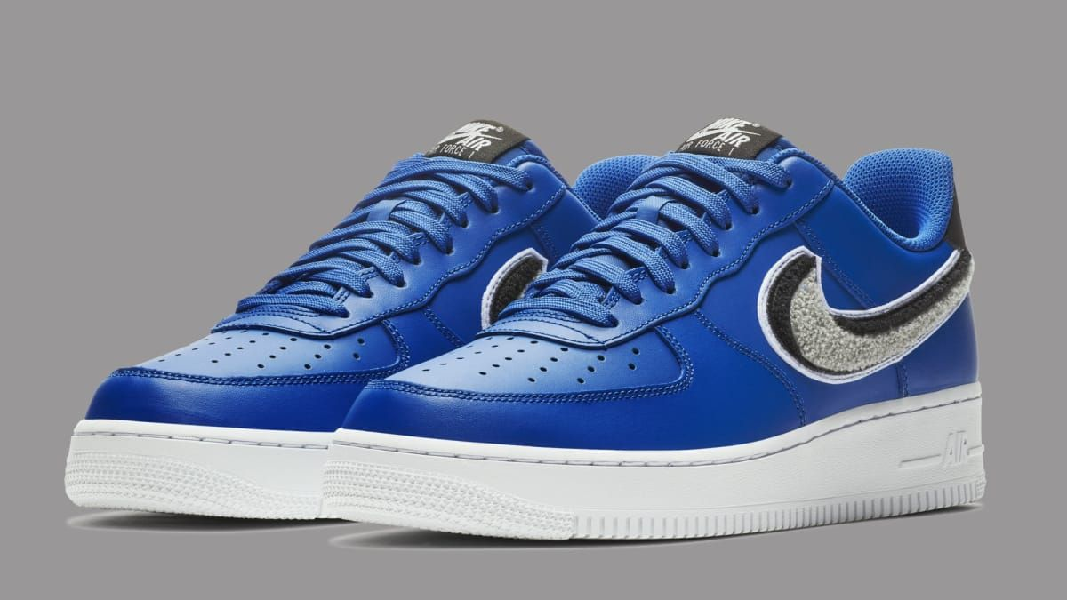 Preview the new Nike Air Force 1 Low with 3D Swoosh logos in