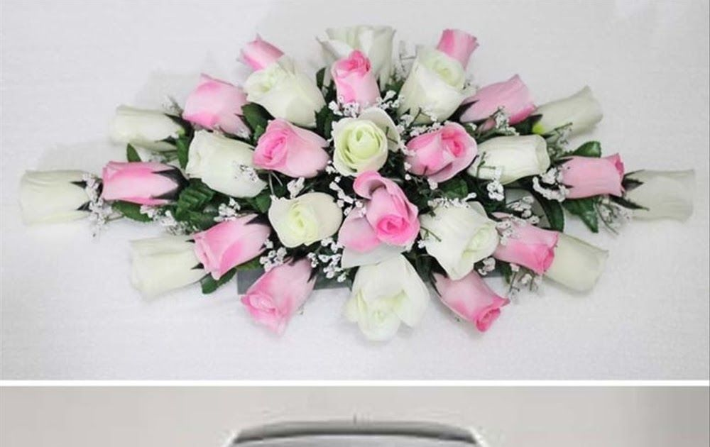 Gambar Menghias Mobil Pengantin Bunga Artificial Bunga Plastik Hias Mobil Pengantin Flower Wedding Car Depan Belakang Gambar Hiasan Toko Bunga Ide Dekorasi