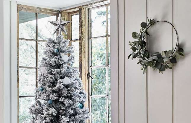Hang Wreaths Everywhere Argos Christmas Decorations Hanging Wreath Christmas Is Over