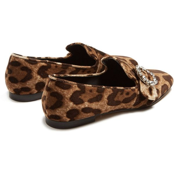leopard print loafers - Brown Dolce & Gabbana