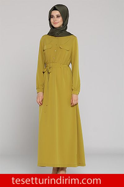 Tozlu Giyim Kislik Tesettur Elbise Modelleri Tesettur Giyim Tesettur Giyim Indirimleri African Print Fashion Dresses Couture Dresses African Print Fashion