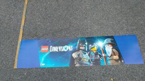 Toys R Us R Zone 13 46 Lego Dimensions Signage Buying Toys