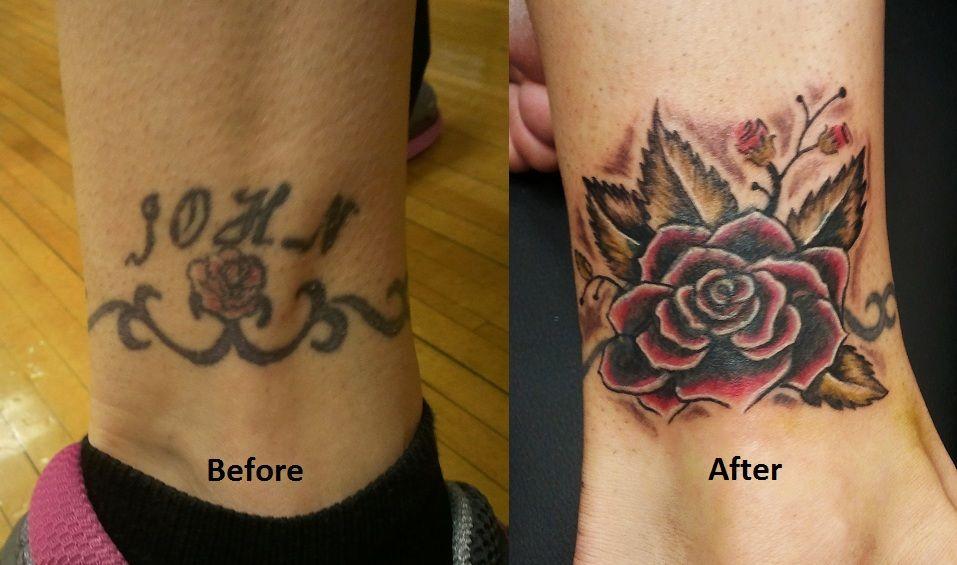 98e671625 Big Tattoo Cover Up Ideas | cover up tattoos | Tattoos | Cover ...