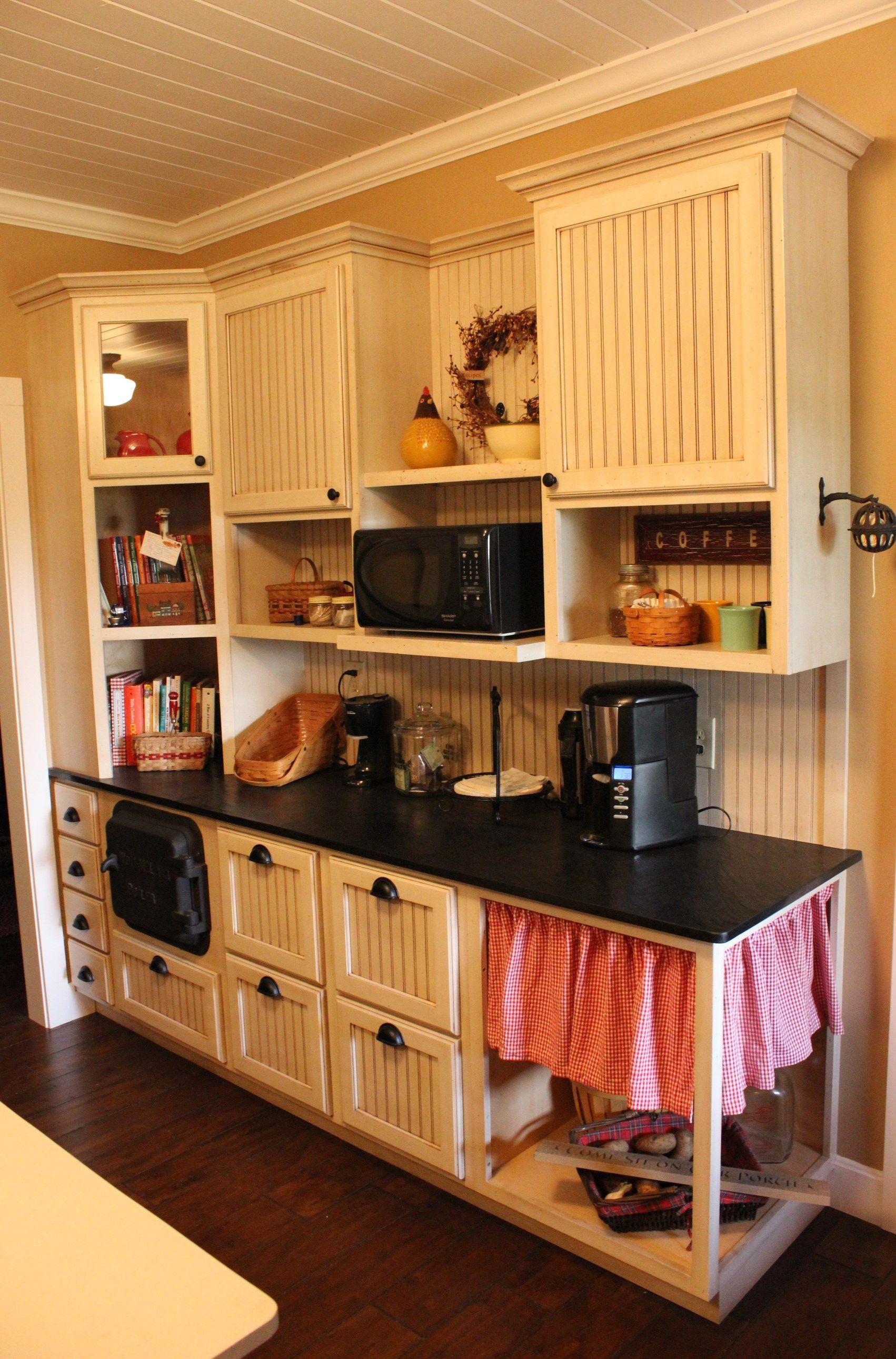 Rustic Beadboard Kitchen Cabinetry   Beadboard kitchen ...