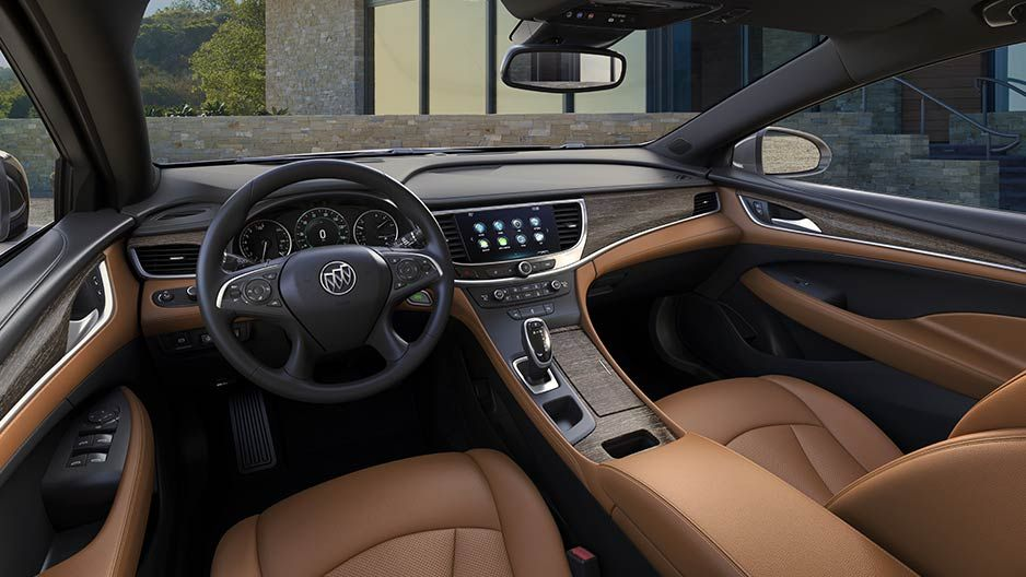 Interior New Center Console Design An All New Center Console Design In The 2017 Buick Lacrosse Full Size Sedan Opens Up The C Buick Enclave Buick Encore Buick