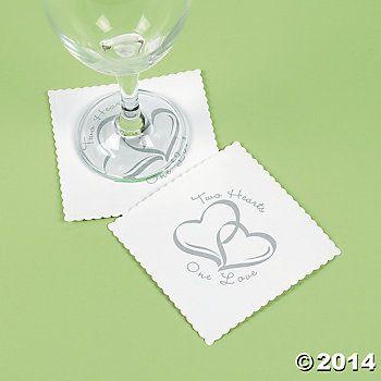 Two Hearts Wedding Theme Two Hearts Wedding Coasters My Wedding