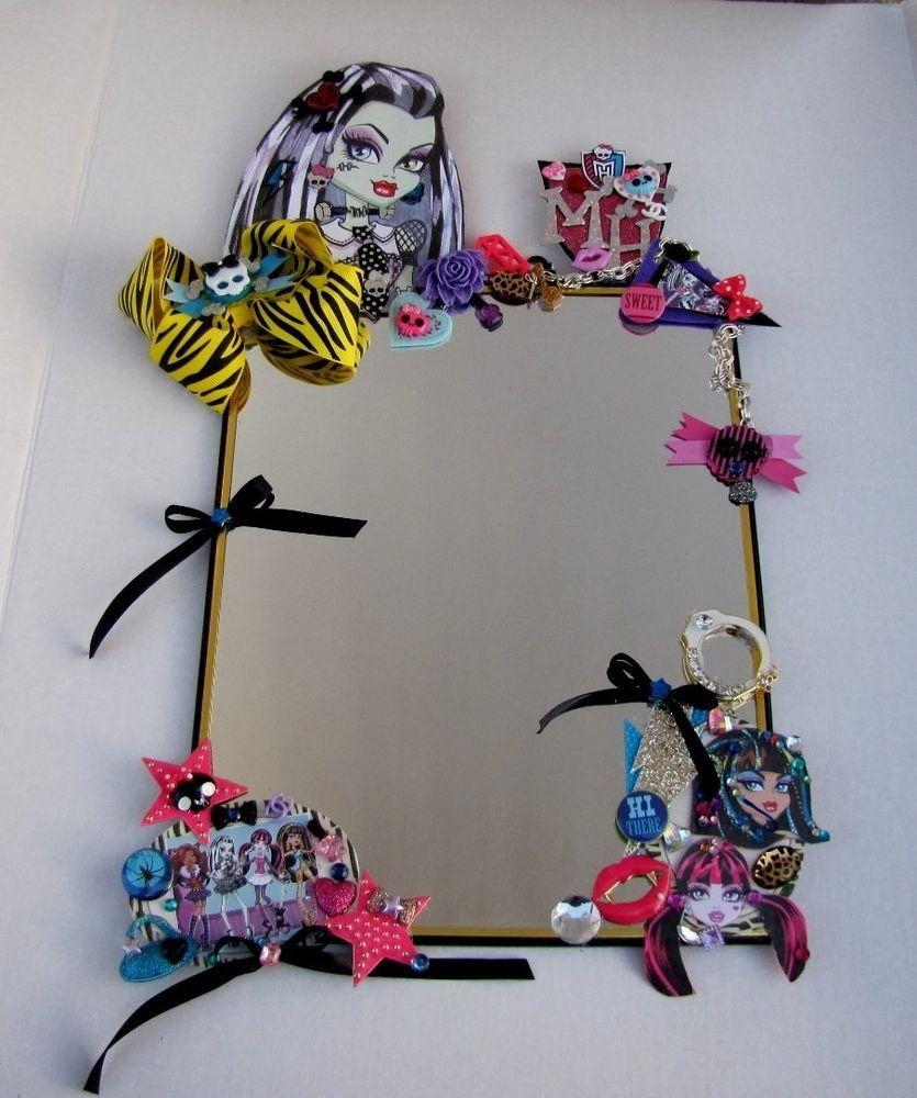Girls Monster High Bed/Bathroom Decorative Wall Mirror