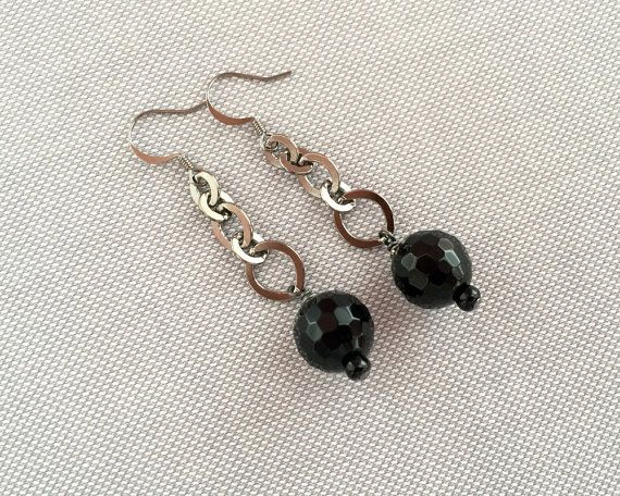 Fun and sassy chain earrings by JJewelryDesign