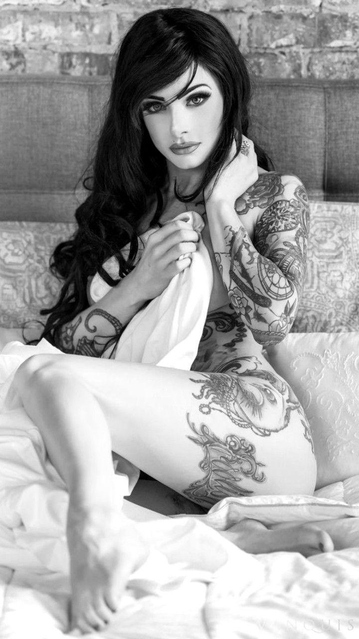 Art body female nude pierced