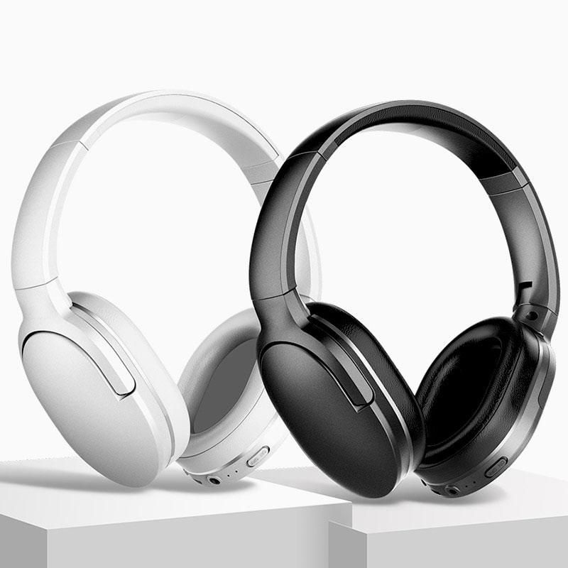 Baseus D02 Wireless Bluetooth 5 0 Headphone In 2020 Headphones Wireless Earphones Headphone