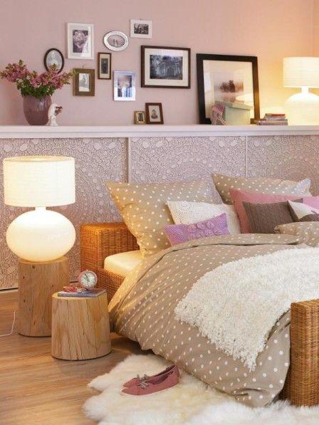Schlafzimmer Der Mix für Aufgeweckte Bedrooms - schlafzimmer braun weiß