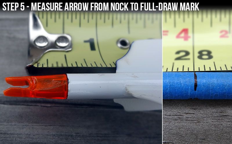 """Blog How To Build a DIY """"Draw Arrow"""" and Measure the Draw"""