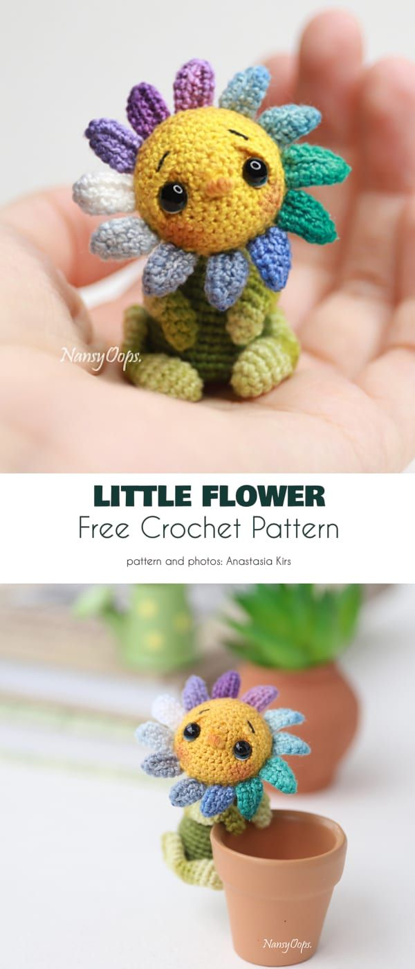 Blossoming Projects, Free Crochet Patterns