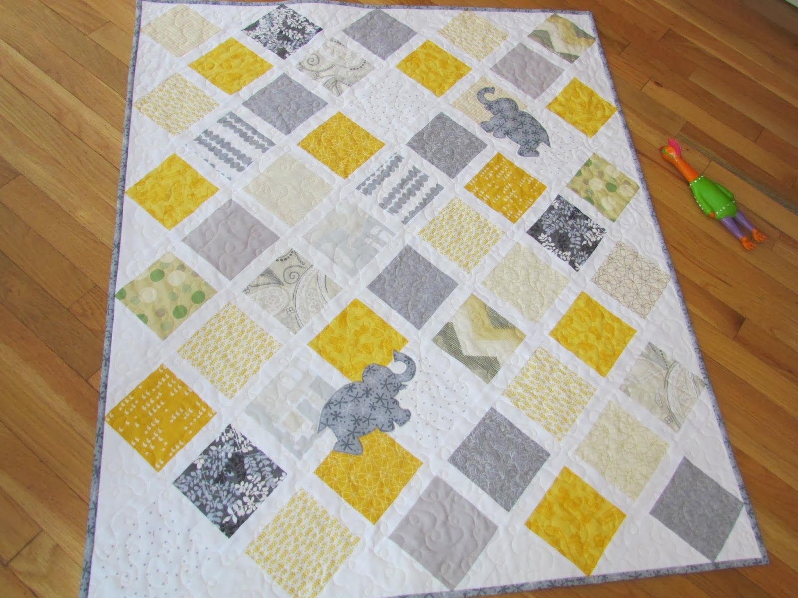 kayak quilt template | Notice the plastic chicken in this last ...