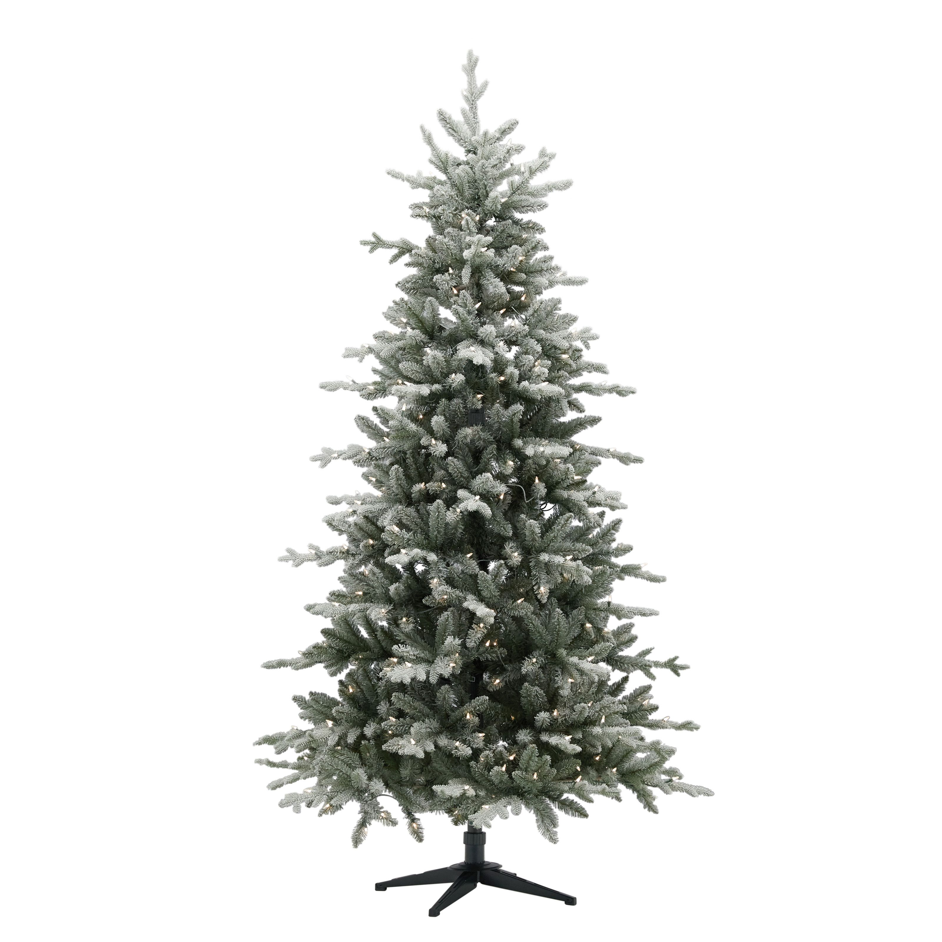 Belham Living Pre Lit Hamilton Flocked Quick Set Pine Artificial Christmas Tree 7 Clear Incandescent Lights Walmart Com Artificial Christmas Tree Best Artificial Christmas Trees Incandescent Lights