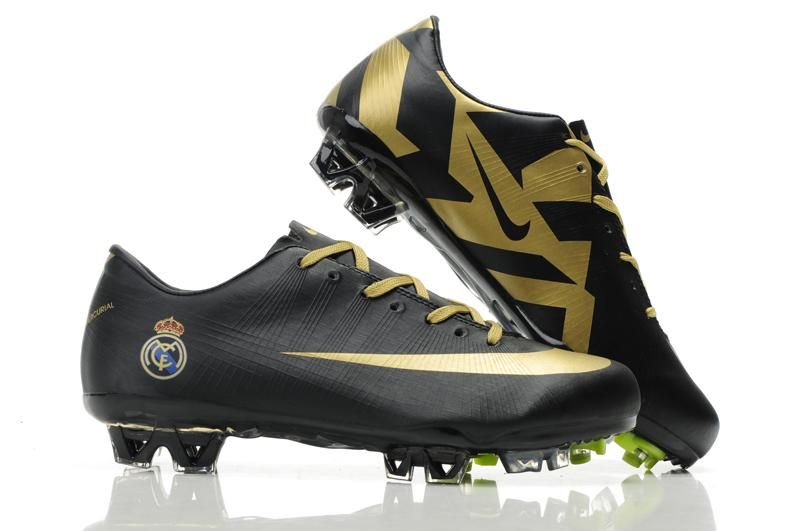 hot sale online 81fc2 e9bb9 ... Nike Mercurial Vapor Superfly III FG Real Madrid - Black Gold . ...