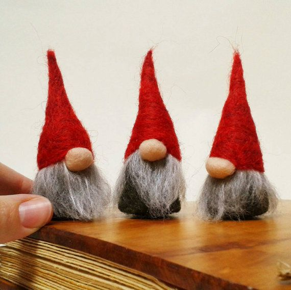 Christmas Decorations Norwegian Christmas Gnomes Tomte Nis With