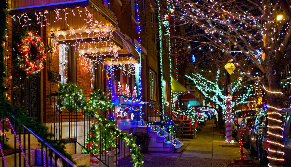 Where S The Best Place To See Holiday Lights In All Of Pennsylvania Travel Leisure Agrees That It Right Here Philly