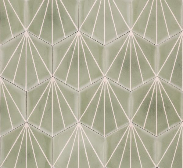 Dandelion - celadon/milk - Collection 2012 - Marrakech Design