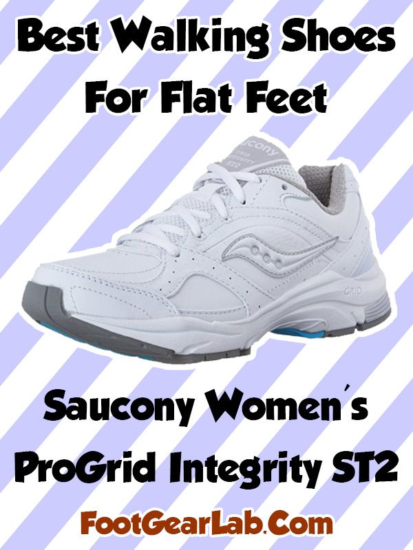 saucony walking shoes for flat feet