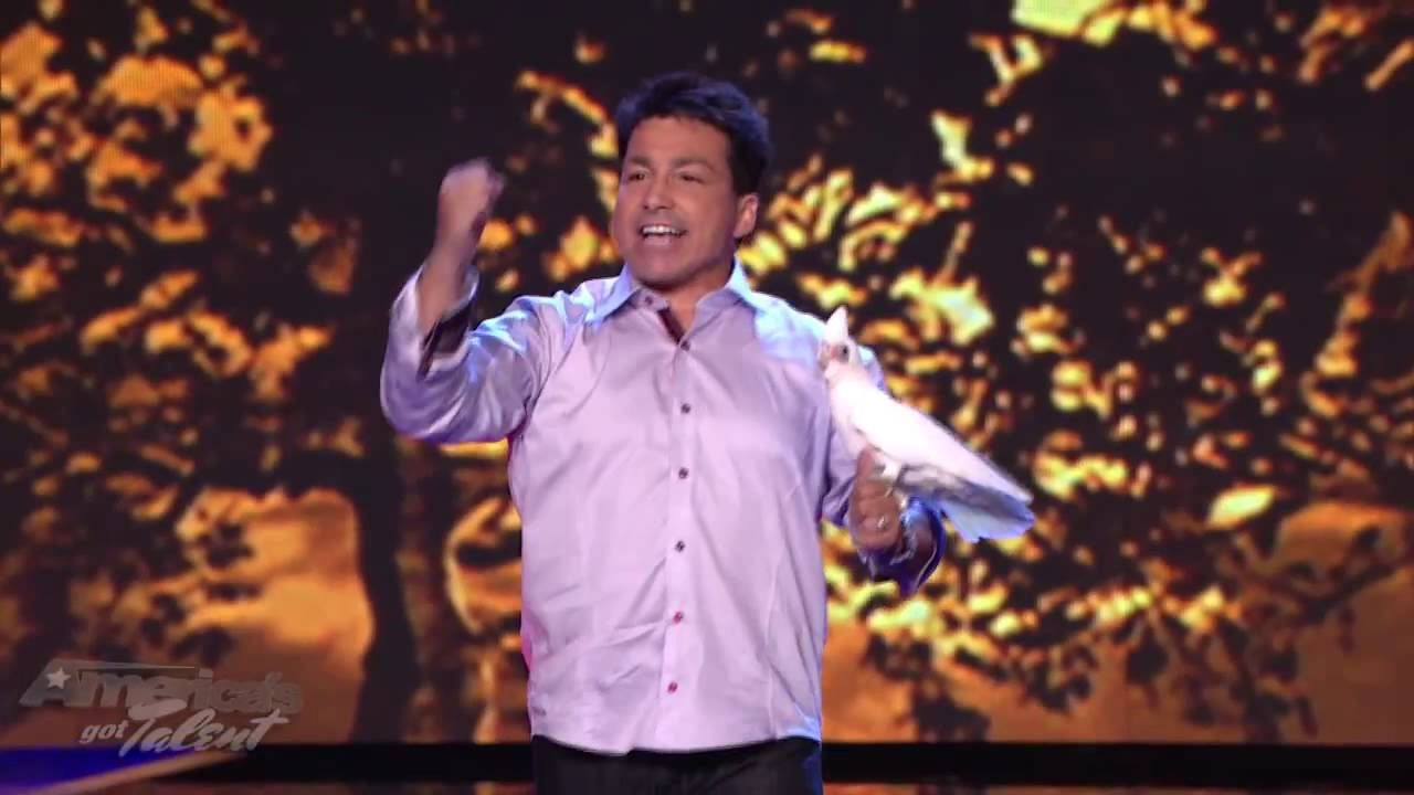 Clint Carvalho and His Extreme Parrots - America's Got Talent YouTube Performance EP: 722 |