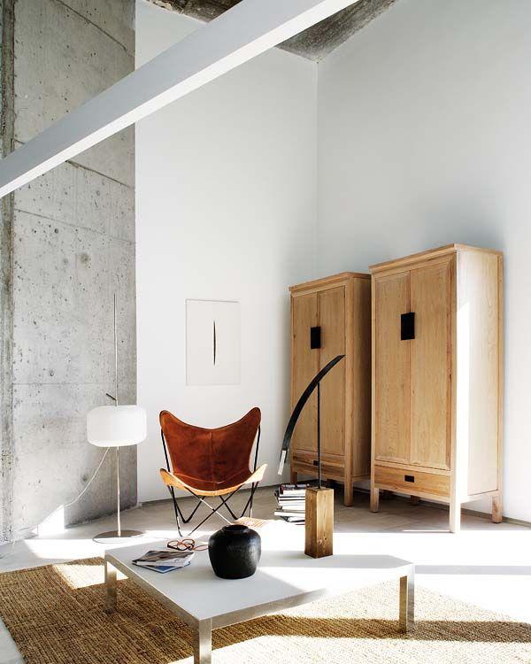 Farbpalette weiß grau Holz Interior Pinterest Farbpaletten - wohnzimmer grau weis holz
