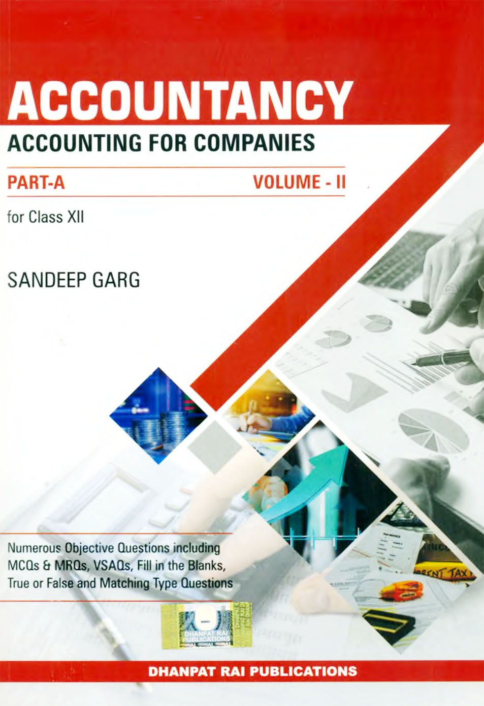 Accountancy PartA VolumeII for Class XII in 2020