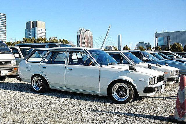 Toyota Corolla E70 I Love Old School S