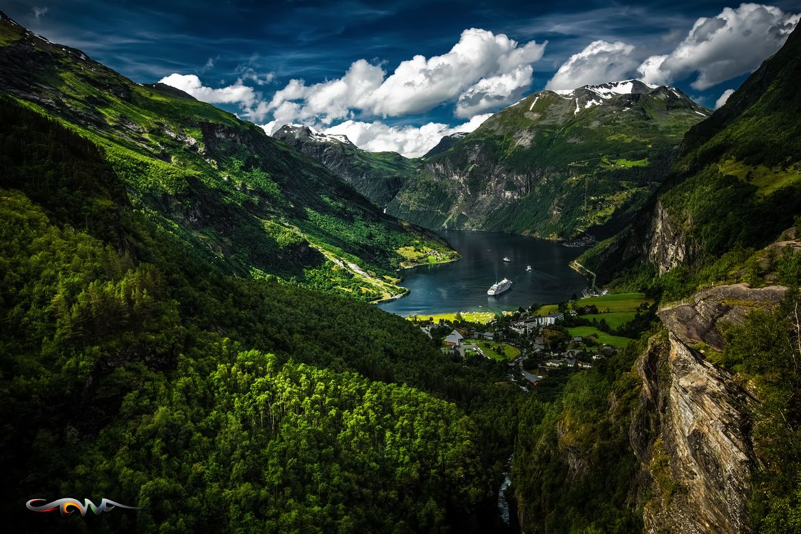 Photograph Geiranger by Andrew Cawa on 500px )