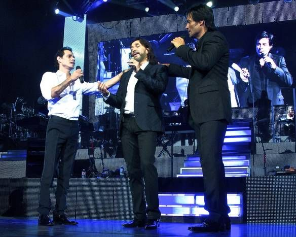 Photos: Marc Anthony, Marco Antonio Solis and Chayanne heat up Dallas' American Airlines Center | Photo by Steve Lee - The Dallas Morning Newshound