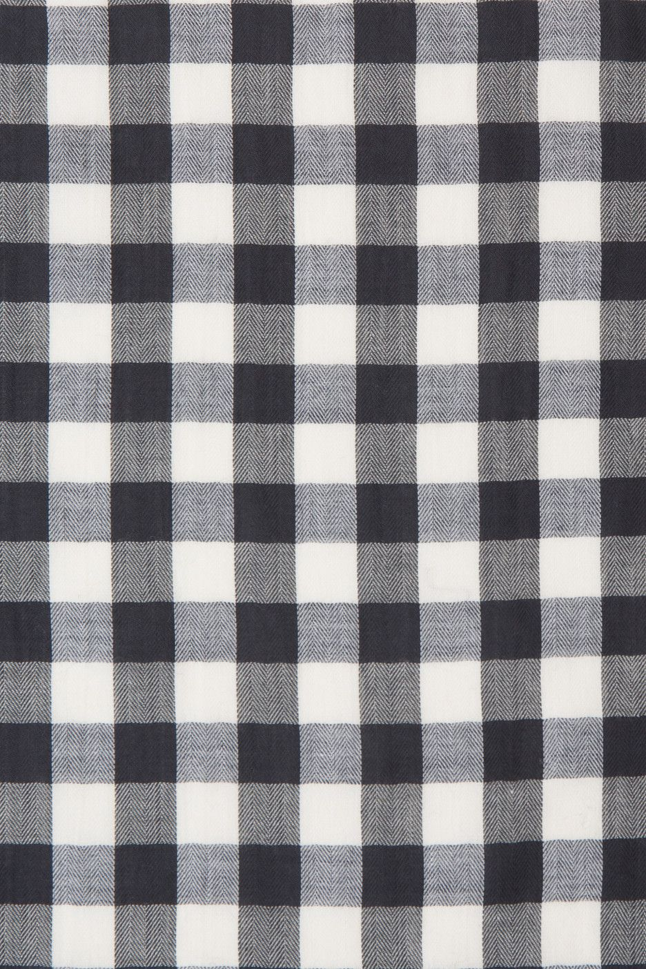 Black and White Cotton Gingham #fallwallpaperiphone