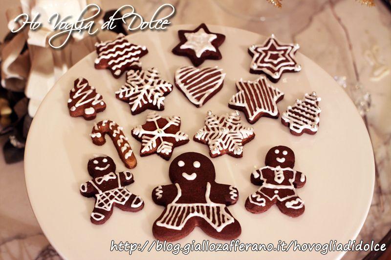 Biscotti Di Natale Ricette Giallo Zafferano.Biscotti Natalizi Decorati Con Glassa Ricetta Dolce Natale