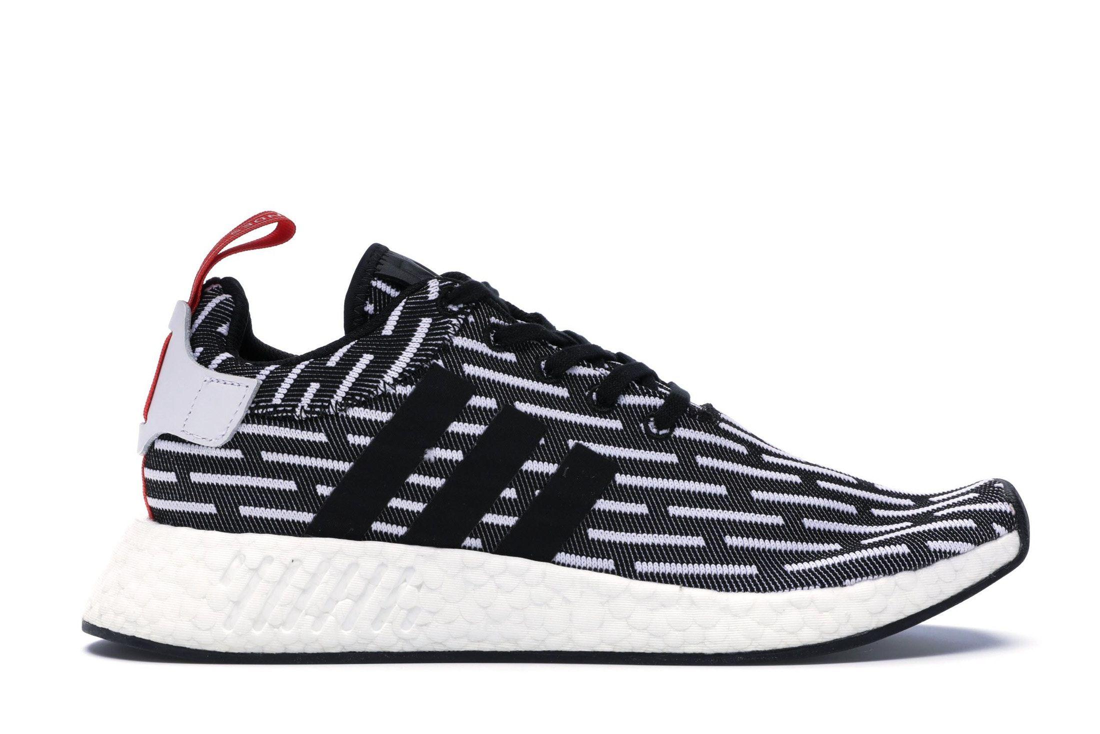 super cute da11a 8cb3a adidas NMD R2 Black White in 2019 | Walk | Adidas nmd r2 ...