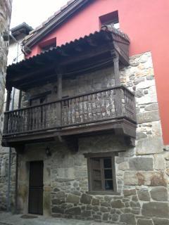 fachada de la casa Casas rurales asturias