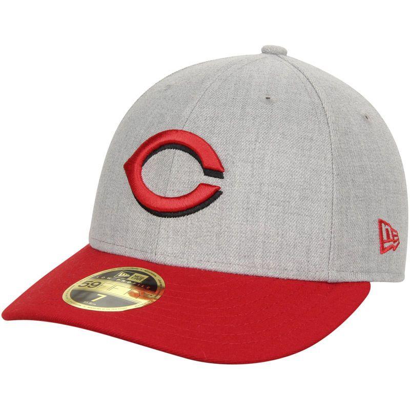New Era 59Fifty Cap Authentic Cincinnati Reds Rouge