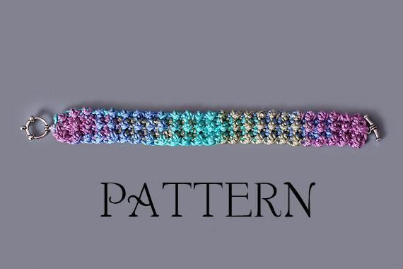 Crochet Bracelets Patterns Gallery Knitting Patterns Free Download